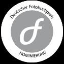 Deutscher Fotobuchpreis NOMINIERT