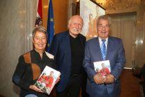 Buchpräsentation mit Margit und Heinz Fischer